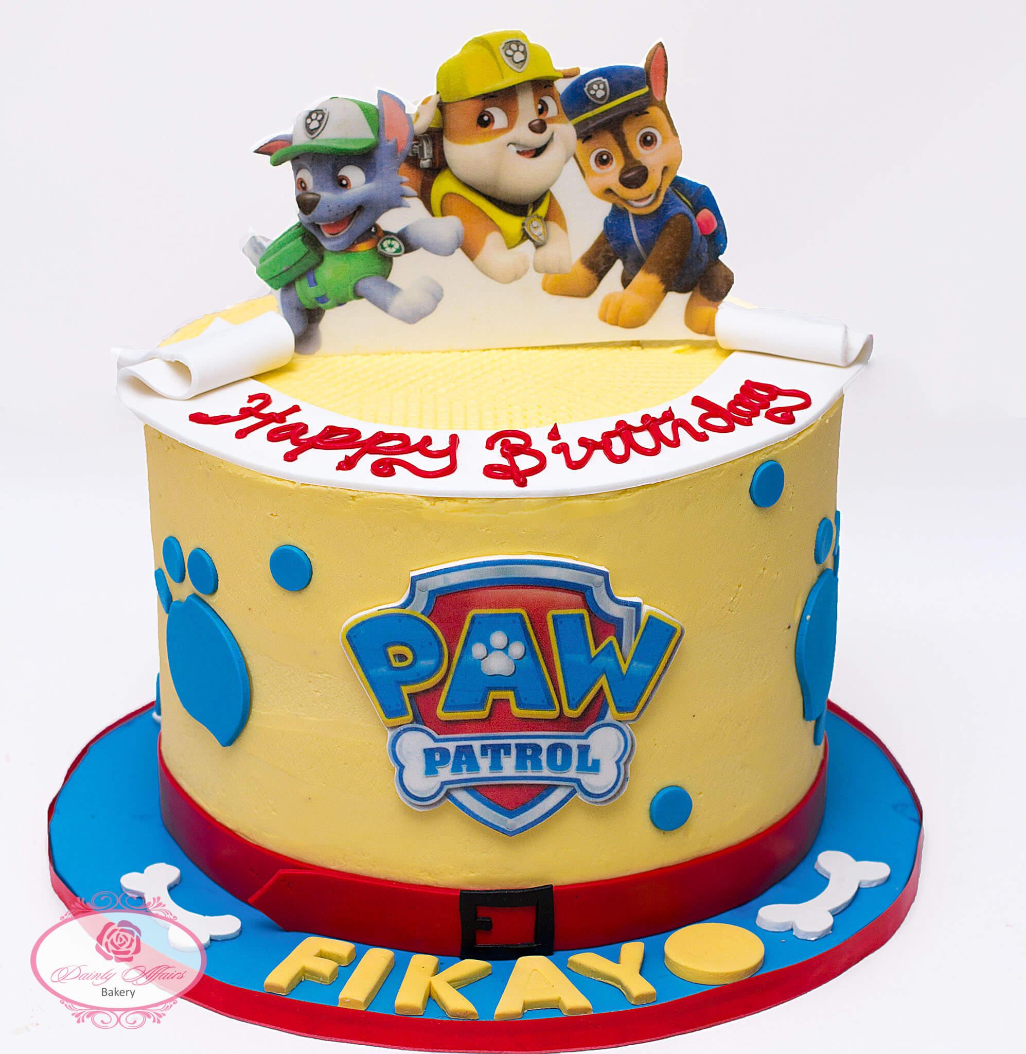 HomeParty CakesPaw Patrol Buttercream Cake