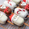 Christmas Cake on sticks