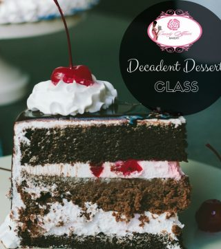 Training Decadent desserts class