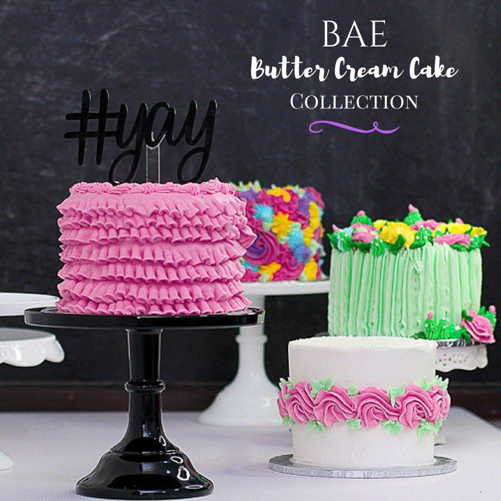 BAE Butter-cream Cakes