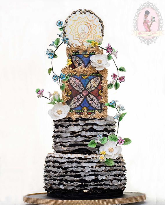 Wedding Cake Classes: Modern Wedding Cakes & Cake Business Structure Class. 5
