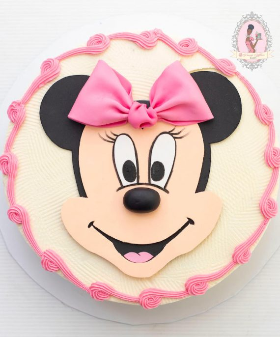 Surprising Minnie And Mickey Mouse Rtg Cake Dainty Affairs Bakery Cakes Personalised Birthday Cards Vishlily Jamesorg