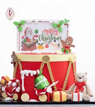 Christmas cake design