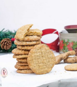 Spiced Stem Ginger Cookies