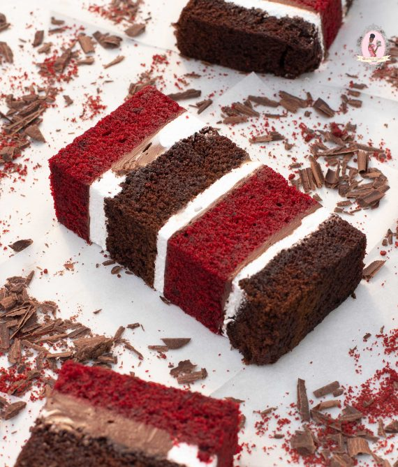 Red Velvet and Chocolate Bar