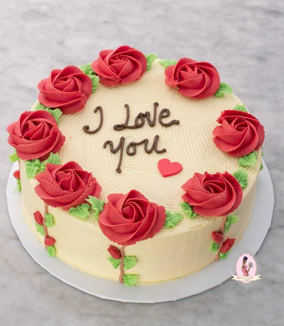 Valentine ButterCream cake