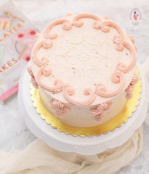 Dainty Victorian Sponge Cake