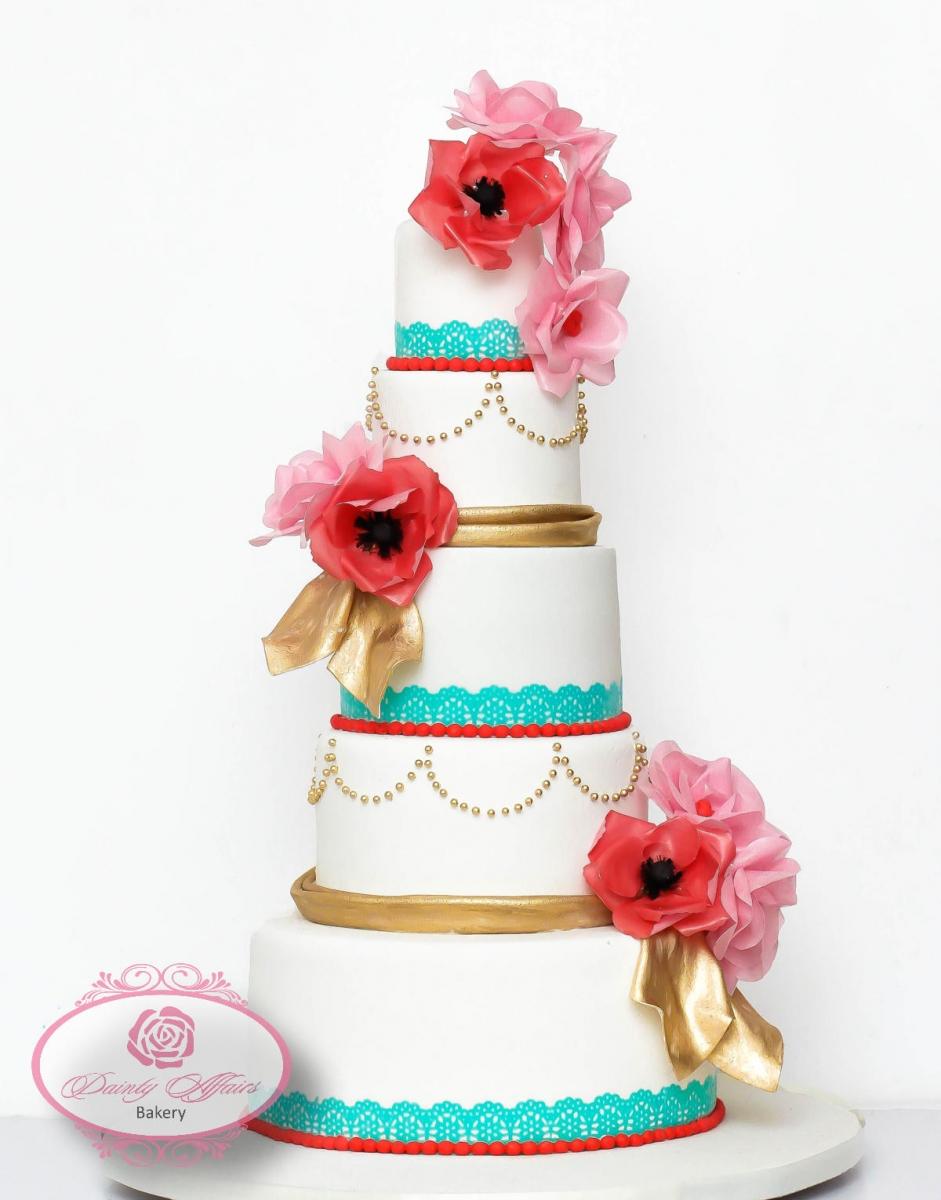 Simple Wedding Cakes – Dainty Affairs Bakery   Cakes   Cupcakes ...