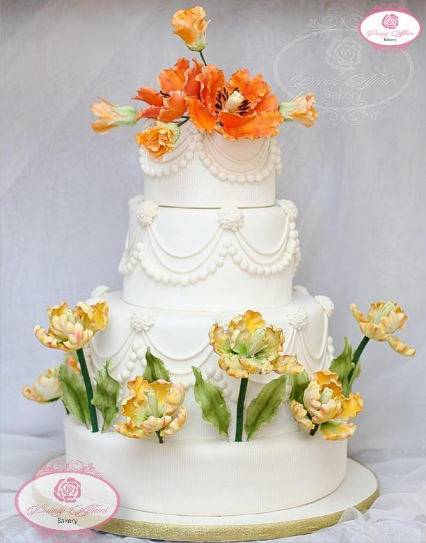 Simple Wedding Cakes Dainty Affairs Bakery Cakes Cupcakes