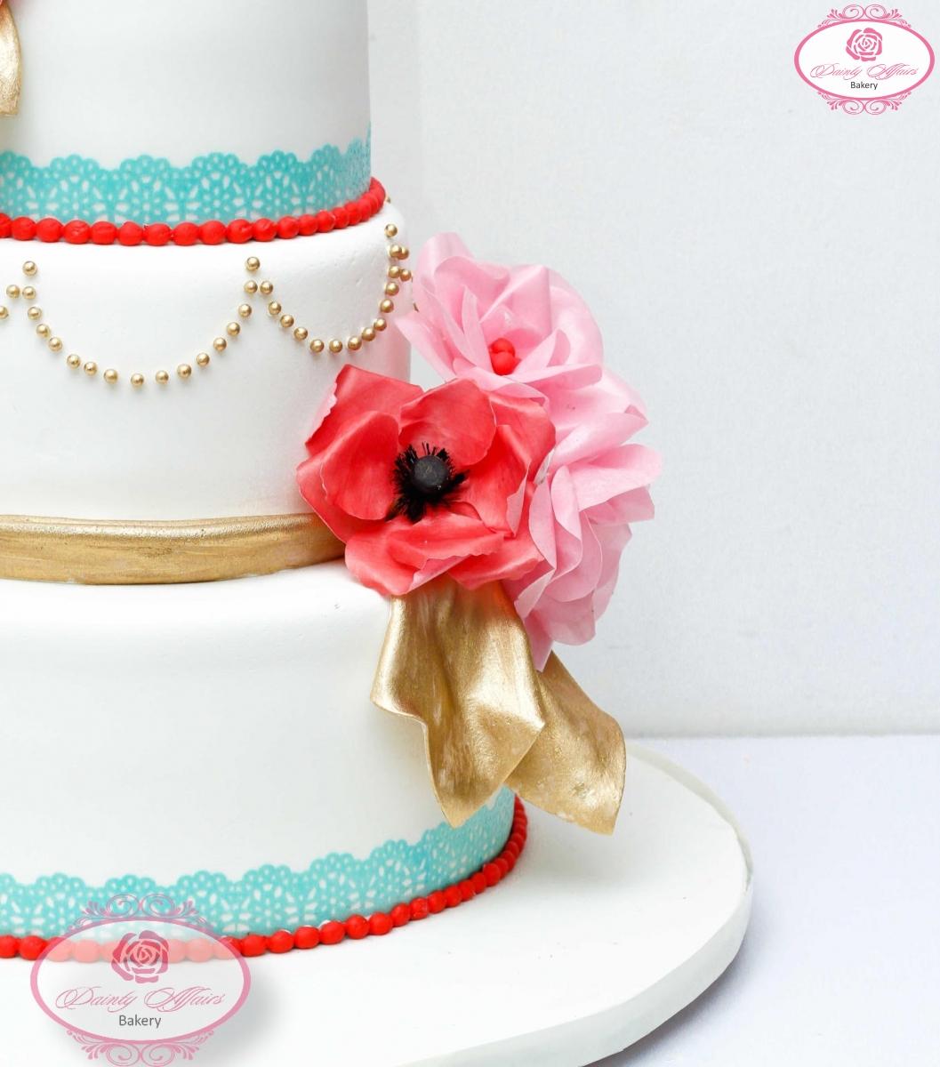 Simple Wedding Cakes – Dainty Affairs Bakery | Cakes | Cupcakes ...