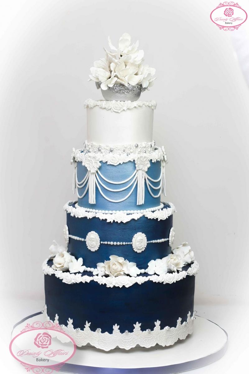 Customised Wedding Cakes – Dainty Affairs Bakery | Cakes | Cupcakes ...