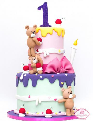 Cake Teddy Wonderland