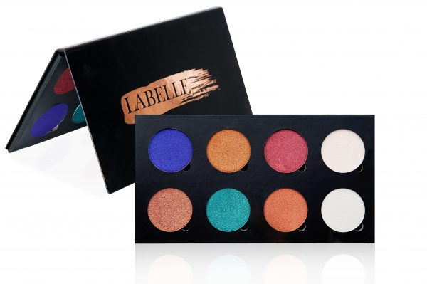 LABELLE PIGMENTED EYESHADOW - 8 SHADE PALETTE